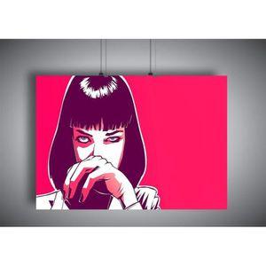 Pulp Fiction 61 x 91,5 cm - Pyramid grand poster Uma on bed