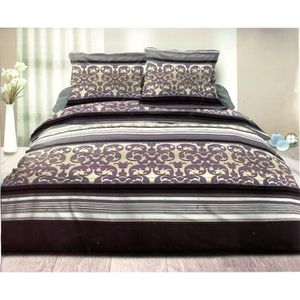 parure drap 2 personne achat vente parure drap 2. Black Bedroom Furniture Sets. Home Design Ideas