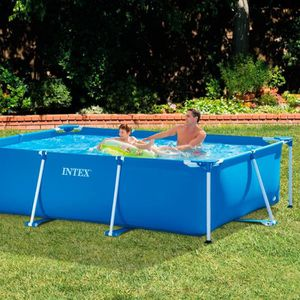 PISCINE Intex - 58981Fr - Piscine - Piscinette Metal Frame