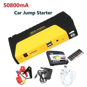 DEMARREUR 50800mAh 12V Auto Booster Batterie Démarrage Charg