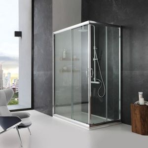 cabine de douche 80x80 avec receveur achat vente pas cher. Black Bedroom Furniture Sets. Home Design Ideas