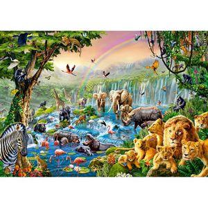 PUZZLE Puzzle 500 pièces Jungle River
