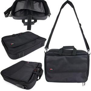 SACOCHE INFORMATIQUE Sacoche noire avec bandoulière pour ordinateur Len
