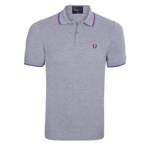 POLO Fred Perry Homme Polo Slim Fit Manches Courtes