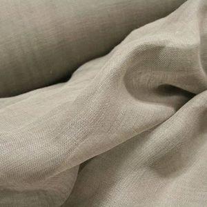 TISSU Tissu Voile de Lin Sable - Tissu au mètre - Quarti