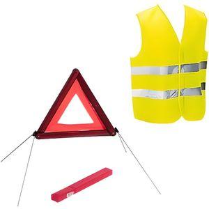 KIT DE SÉCURITÉ Kit sécurité voiture homologué gilet et triangle d