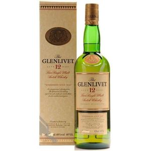 WHISKY BOURBON SCOTCH THE GLENLIVET PURE SCOTCH MALT SCOTCH SIMPLE MALT