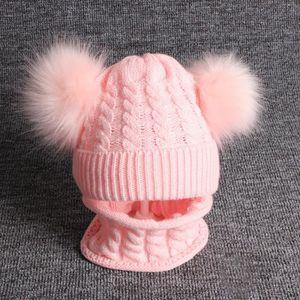 BONNET - CAGOULE Bonnet Chapeau Pompon Casquette d'hiver Tricoté Ch