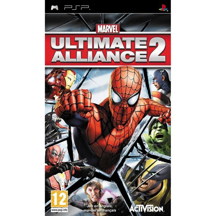 JEU PSP MARVEL ULTIMATE ALLIANCE 2 / JEU CONSOLE PSP