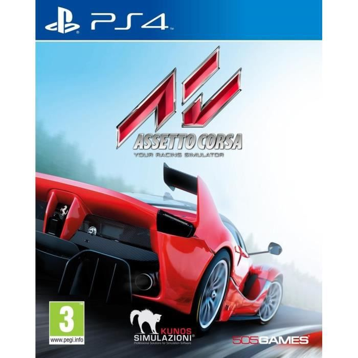 playstation 4 assetto corsa achat vente jeu ps4 playstation 4 assetto corsa cdiscount. Black Bedroom Furniture Sets. Home Design Ideas