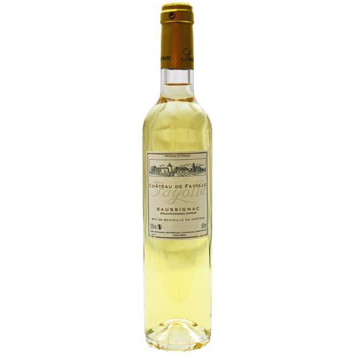 Château de Fayolle, Saussignac, Doux (Bergerac), 2013 Demi-Litres, 50 cl. - Vin Blanc