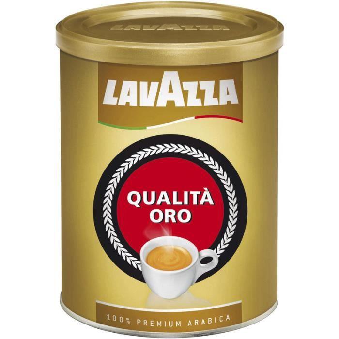 LAVAZZA Café moulu qualita oro - 250 g