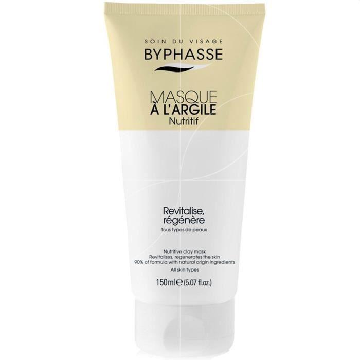 Byphasse - Masque visage à l'argile Nutritif - 150ml