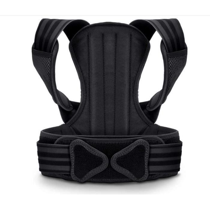 VOKKA Correcteur de Posture pour Homme & Femme, Soutien Spinal/Dos, Réduit la Douleur du Cou, Dos & Épaules, Bretelles avec Coussine