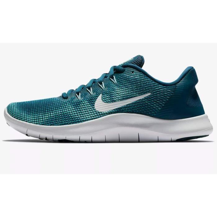 NIKE chaussure de running femme flex 2018 rn blue force - white-ocean VXXK7 Taille-42