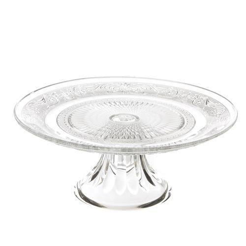 Présentoir à gâteaux Renaissance - Diam. 29 cm. - Verre
