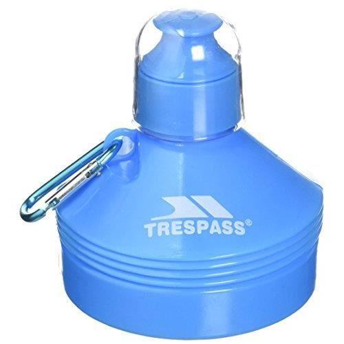 Trespass Squeezi Bouteille d'eau Mixte Adulte, Bleu, 0.5 l