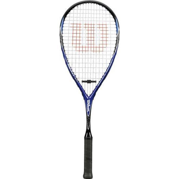 WILSON Raquette de squash CS Muscle - Bleu et Noir