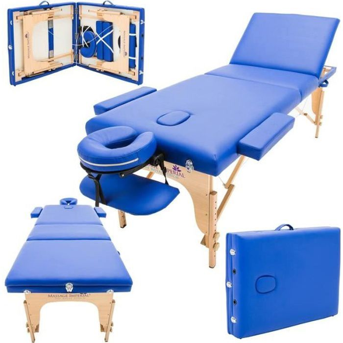 Massage Imperial Chalfont Table De Massage Reiki Leger Bleu