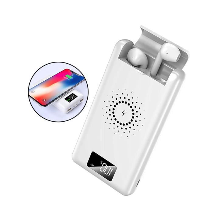 CHARGEUR TÉLÉPHONE Portable 3 en 1 QI chargeur iphone Sumsung batteri