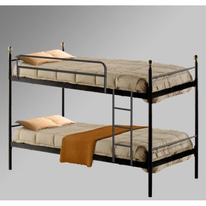 lit superpos en fer forg mod le universal i achat. Black Bedroom Furniture Sets. Home Design Ideas