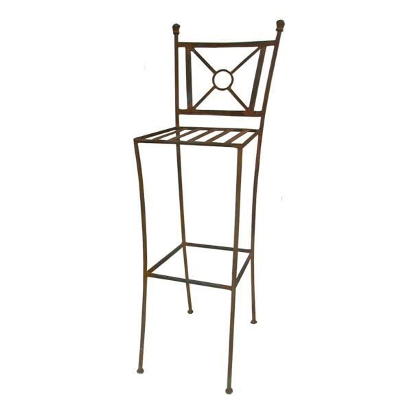 tabouret de bar tina en fer forg achat vente tabouret de bar fer forg cdiscount. Black Bedroom Furniture Sets. Home Design Ideas