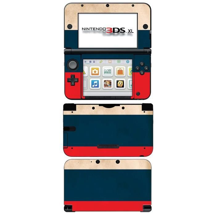 skin stickers pour nintendo 3ds xl sticker russia flag. Black Bedroom Furniture Sets. Home Design Ideas