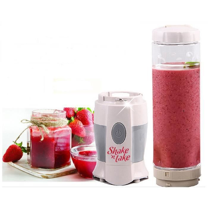 shake n take mini fruits multifonction mixeur centrifugeuse smoothie maker broyeur glace. Black Bedroom Furniture Sets. Home Design Ideas