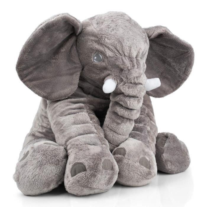 L/'Eléphant Flappy Peluche Musicale Animal Doudou Jouet Bébé Enfant Cadeau NEUF