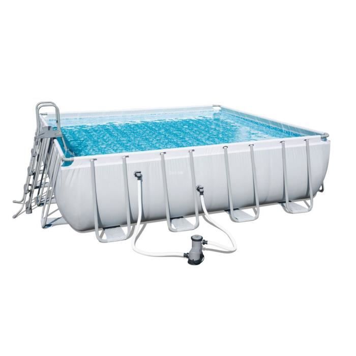 Piscine hors sol carre achat vente piscine hors sol for Piscine gonflable carree
