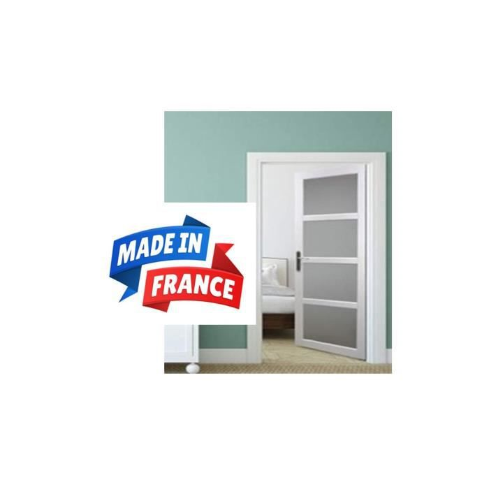 Block Porte Awesome Blocporte Melamine Blanc A Chants Plats With