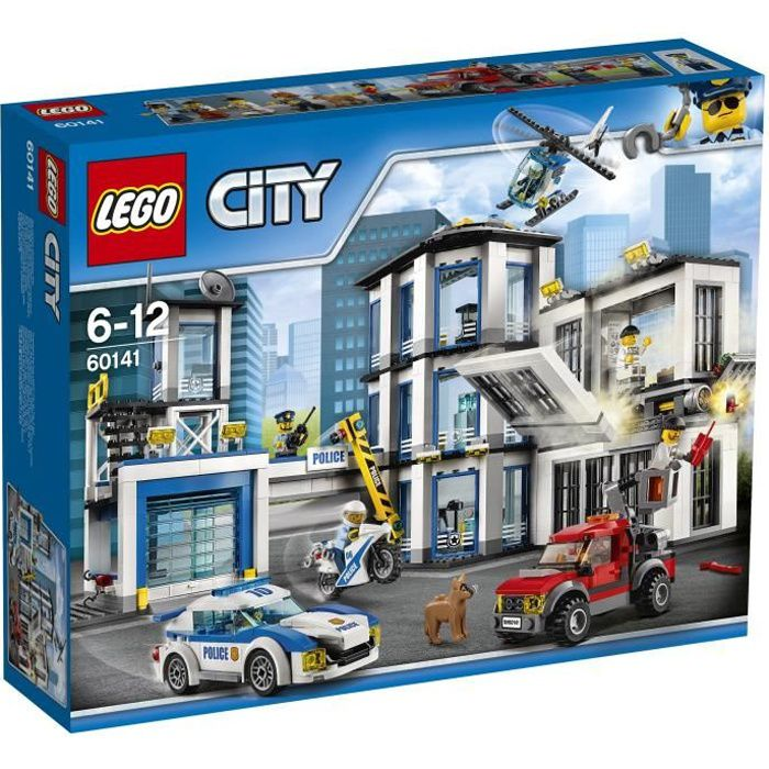 ASSEMBLAGE CONSTRUCTION LEGO® City 60141 Le Commissariat de Police