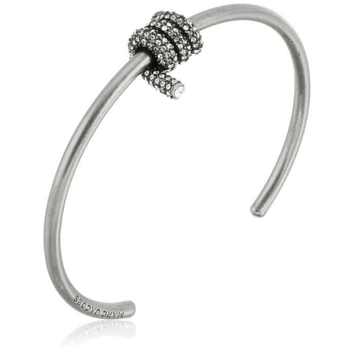 Marc Jacobs Fall 2016 Pave Twisted Cuff Bracelet SXPAA