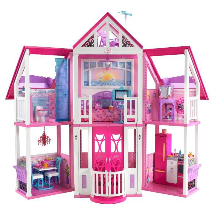 barbie ma maison de r ve achat vente maison poup e cdiscount. Black Bedroom Furniture Sets. Home Design Ideas