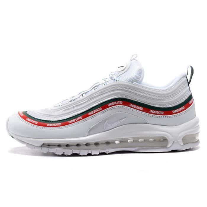 Basket Nike Air Max 97 Homme Femme Running Chaussure Blanc