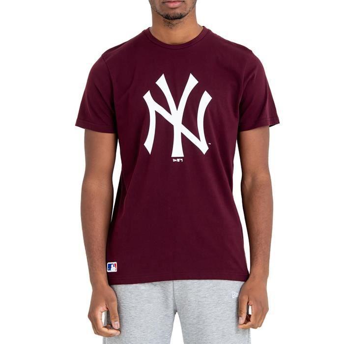 Homme Blanc Vert et violet couleur bloc T-shirt de taille moyenne NEUF