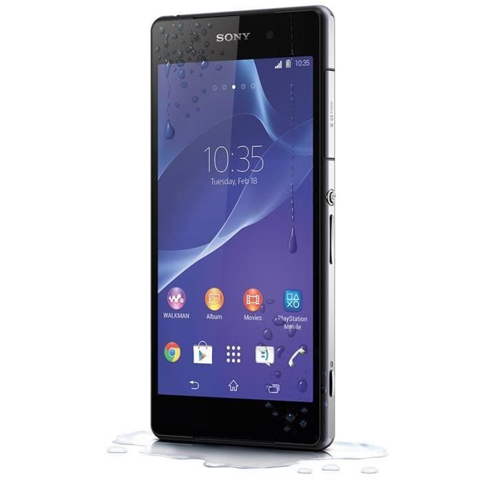 sony xperia z2 noir reconditionne a neuf achat. Black Bedroom Furniture Sets. Home Design Ideas