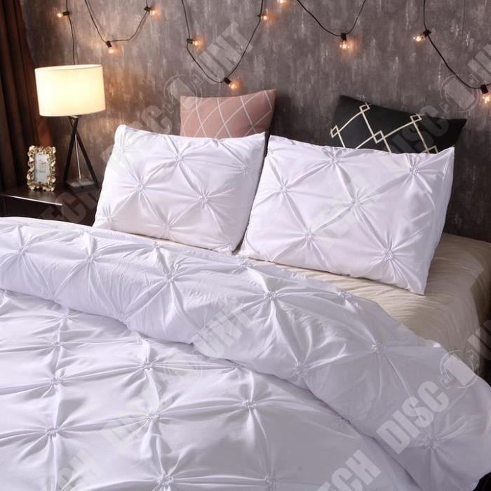 Or blanc argent métallisé paillettes étoile brillante Double couette couverture ensemble de lit