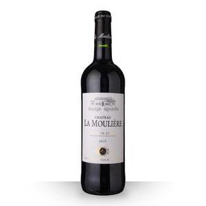VIN ROUGE Château la Moulière 2015 Rouge 75cl AOC Côtes de D