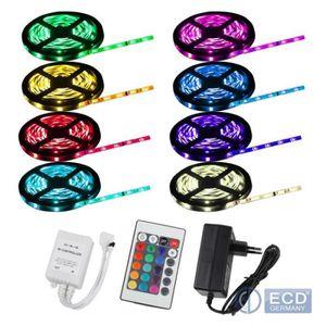 BANDE - RUBAN LED 4x LED RGB SMD NWF Stripe 20m 30 LED Stripe+24T+5A