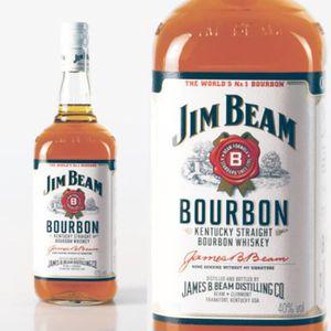 WHISKY BOURBON SCOTCH Bourbon Jim Beam White Label