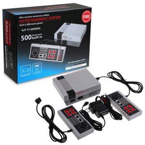 JEU CONSOLE RÉTRO Mini Rétro TV Console de jeu NES 8Bit Classic 500