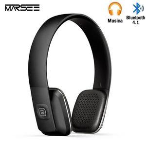 OREILLETTE BLUETOOTH Casque Bluetooth,Marsee bluetooth 4.1 haute fidéli