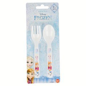 179 G/én/érique Set de Couvert Plastique pour Bebe Princesse Disney Fourchette Cuillere Enfant Repas