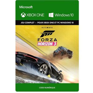 JEU XBOX ONE À TÉLÉCHARGER Forza Horizon 3 Edition Ultimate Jeu Xbox One à té