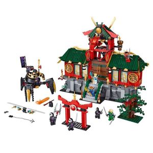 ASSEMBLAGE CONSTRUCTION LEGO NINJAGO® Battle for Ninjago City and Temple w