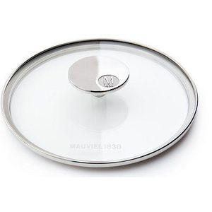 COUVERCLE VENDU SEUL Couvercle en verre 14 cm Mauviel M'360