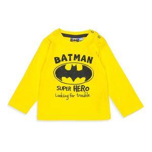 T-SHIRT BATMAN T-shirt Jaune Bébé Garçon