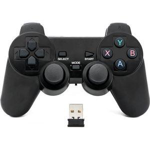 JEU PC QUMOX Contrôleur manette jeu joypad sans fil Bluet