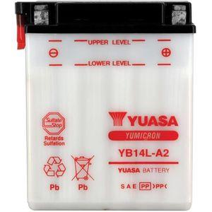 BATTERIE VÉHICULE YUASA-812142 - Batterie YB14LA2
